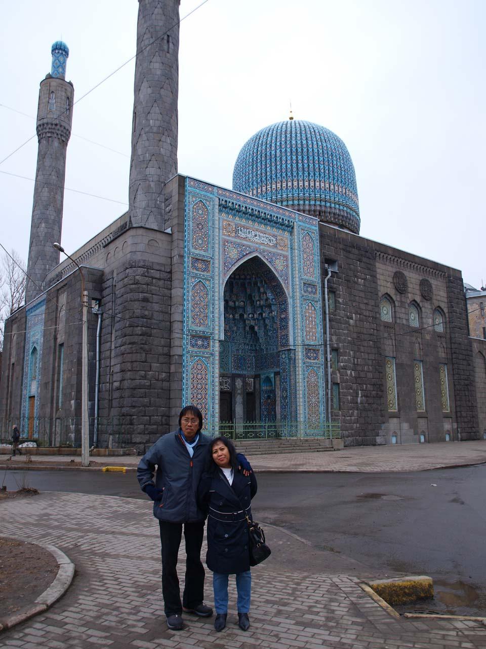 Masjid Biru Masjid Soekarno di Rusia